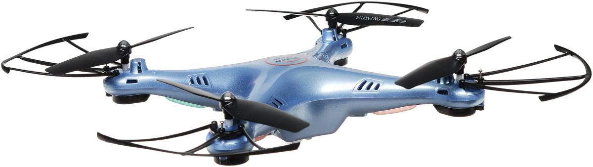 Syma Квадрокоптер на радиоуправлении X5HW цвет синий