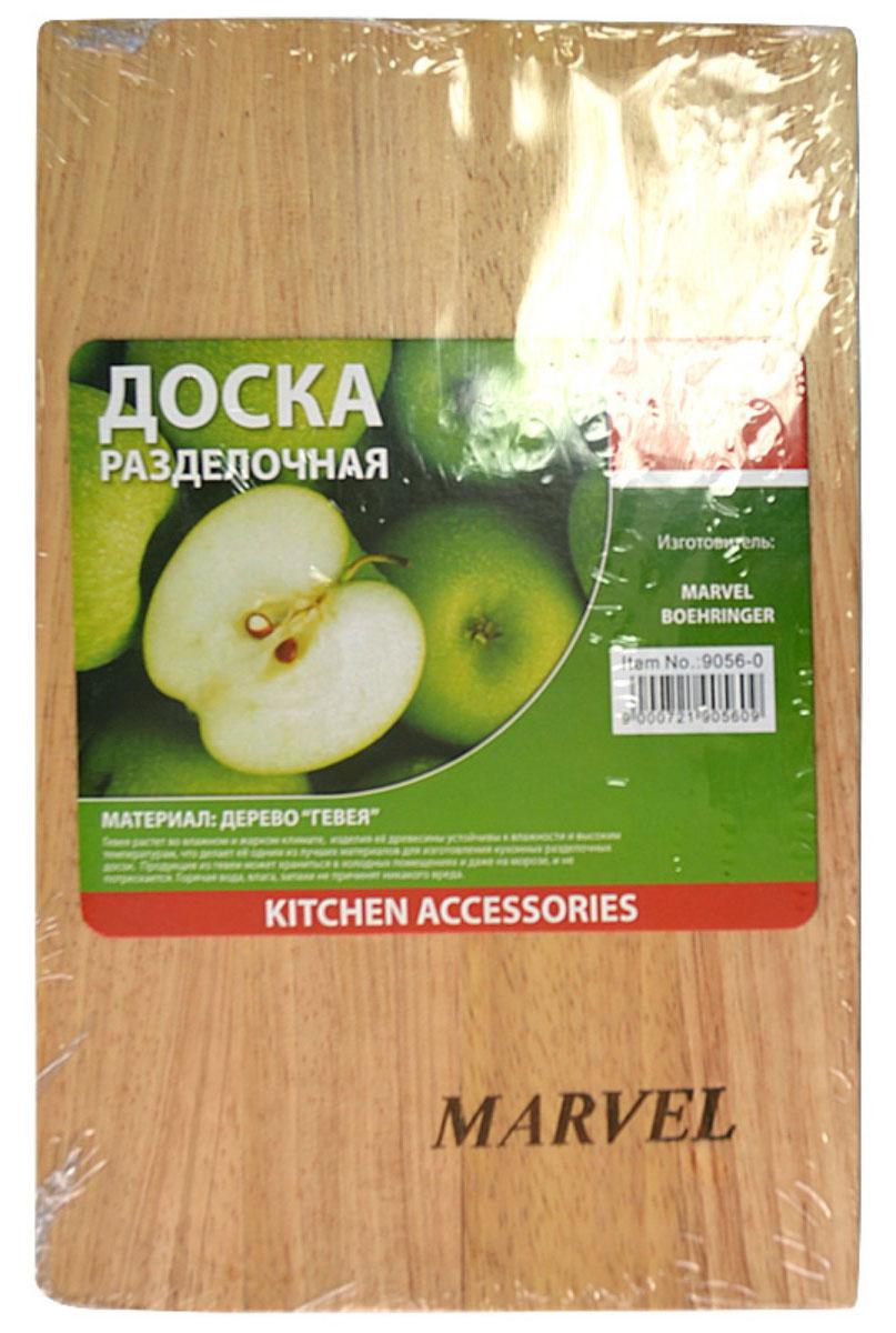 Доска разделочная Marvel, 23 х 15 х 1 см68/5/3Разделочная доска Marvel, выполненная из дерева, прекрасно впишется в интерьер любой кухни и прослужит вам долгие годы.