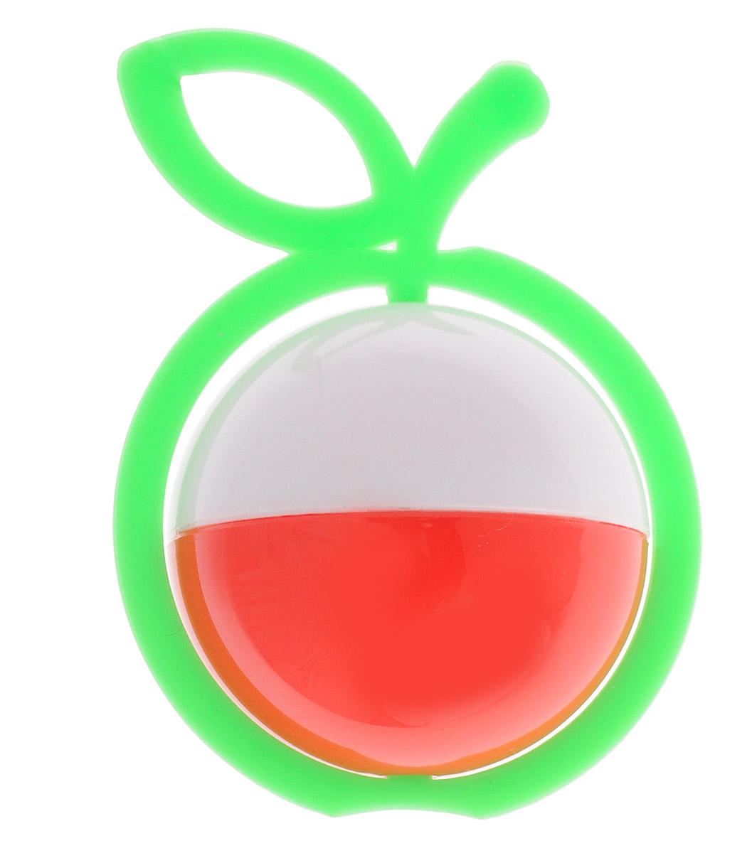 Аэлита Погремушка Яблоко цвет зеленый белый красный