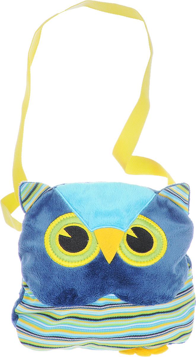 Fancy Сумка детская Сова цвет синий зеленый72523WDДетская сумка Fancy Сова обязательно понравится каждой маленькой моднице.Сумочка выполнена в виде яркой полосатой совы и декорирована ушками, лапками и милой мордочкой с вышитыми глазками. Сумка изготовлена из мягкого ворсового трикотажа.Изделие имеет одно отделение, которое закрывается на застежку-молнию. Сумка имеет длинную лямку для ношения на плече (не фиксируется по длине).Порадуйте свою малышку таким замечательным подарком!