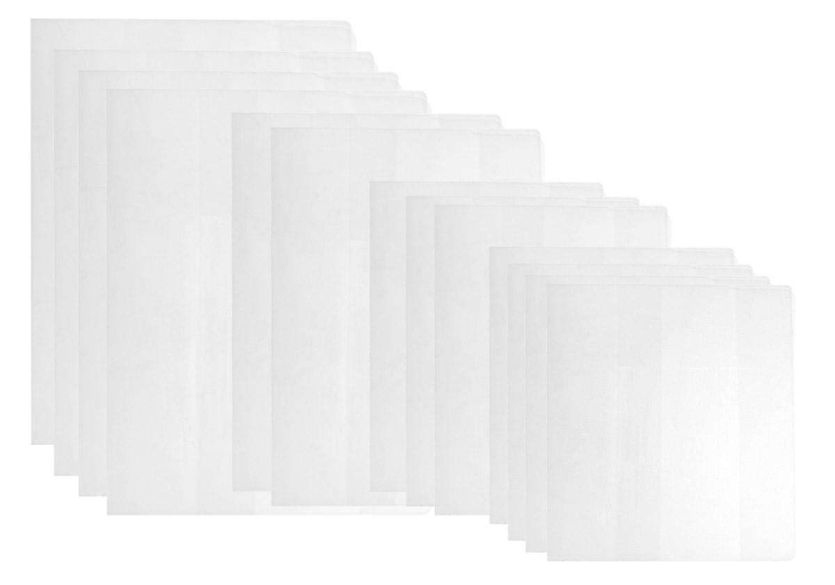Апплика Набор школьных обложек для начальных классов 15 штС2544-01Набор школьных обложек для учебников и тетрадей Апплика выполнен из прозрачного ПВХ. Они предназначены для защиты учебников и тетрадей от пыли, грязи и механических повреждений. Отличное качество, высокая прозрачность, прочность и долговечность - это главные преимущества этого товара. В наборе 15 обложек разных размеров полупрозрачного цвета,предназначенных на разные типы учебников и тетрадей.