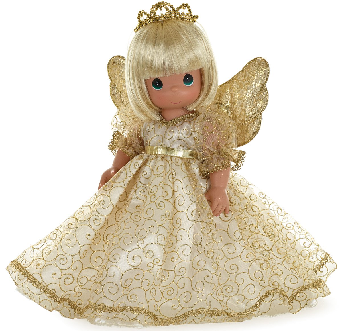 Precious Moments Кукла Ангельский шепот блондинка precious moments кукла спящая красавица precious moments