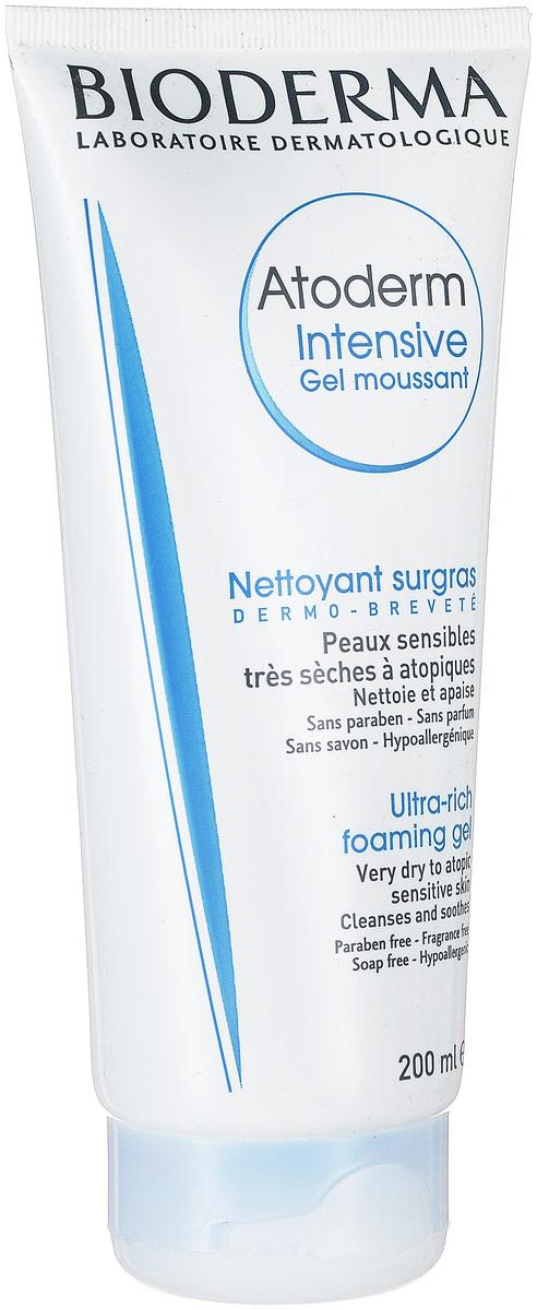 Bioderma Atoderm Мусс Интенсив, 200 млAC-2233_серыйМусс Интенсив предназначен для ежедневного очищения очень сухой и атопичной кожи. Подходит для лица и и для тела. Можно использовать даже новорожденным. Бережно очищает и смягчает кожу. Восстанавливает кожный барьер и оказывает противовоспалительное действие (Витамин РР), активируя синтез церамидов, холестерина, жирных кислот.Мягкая очищающая основа растительного происхождения и производное пальмового масла, ксилитол обеспечивают деликатное очищение и смягчают кожу. Меди сульфат и цинка сульфат снижают риск вторичного инфицирования.