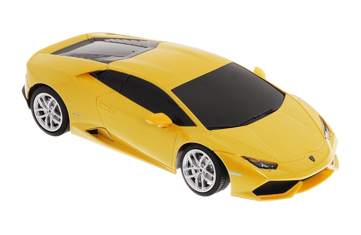 Rastar Радиоуправляемая модель Lamborghini Huracan LP 610-4 цвет желтый