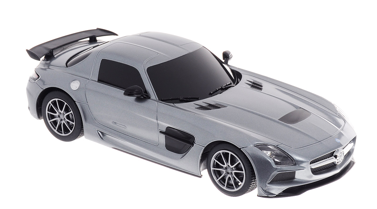 Rastar Радиоуправляемая модель Mercedes-Benz SLS AMG цвет серебристый масштаб 1:18 bburago модель автомобиля mercedes benz sls amg roadster