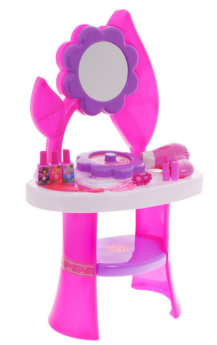 1TOY Туалетный столик Стилист Цветок большой 10 предметов, Solmar Pte Ltd