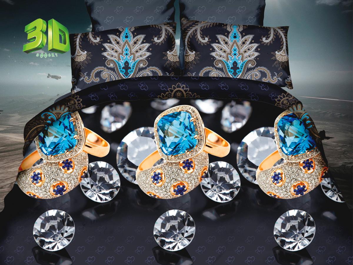 Комплект белья Cleo Алмазная грань, 1,5-спальный, наволочки 70х70RC-100BWCКомплект постельного белья из поплина CLEO – это прочность и комфорт! Поплину характерен репсовый эффект, который образуется методом чередования толстых и тонких нитей, в результате на поверхности появляются рубчики, создавая неравномерность полотна. Постельное белье из поплина обладает рядом преимуществ: мягкий и шелковистый, натуральный, экологически чистый, гипоаллергенный, прочный, не деформируется, не растягивается и держит форму, пропускает воду и воздух, прекрасно стирается в прохладной воде, прост в уходе. Комплект состоит из пододеяльника, двух наволочек и простыни.