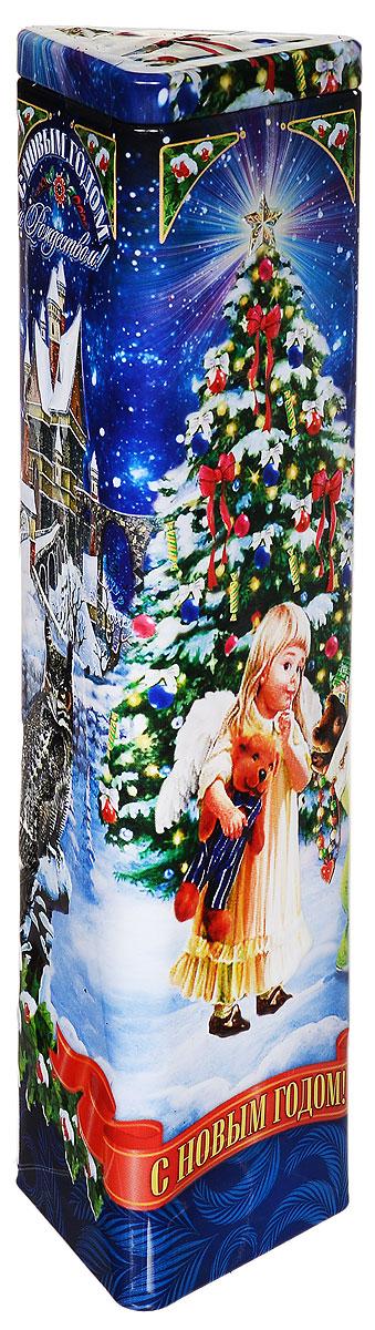 Дольче Вита Новогоднее Волшебство черный ароматизированный листовой чай, 75 г дольче вита с рождеством христовым черный листовой чай 170 г
