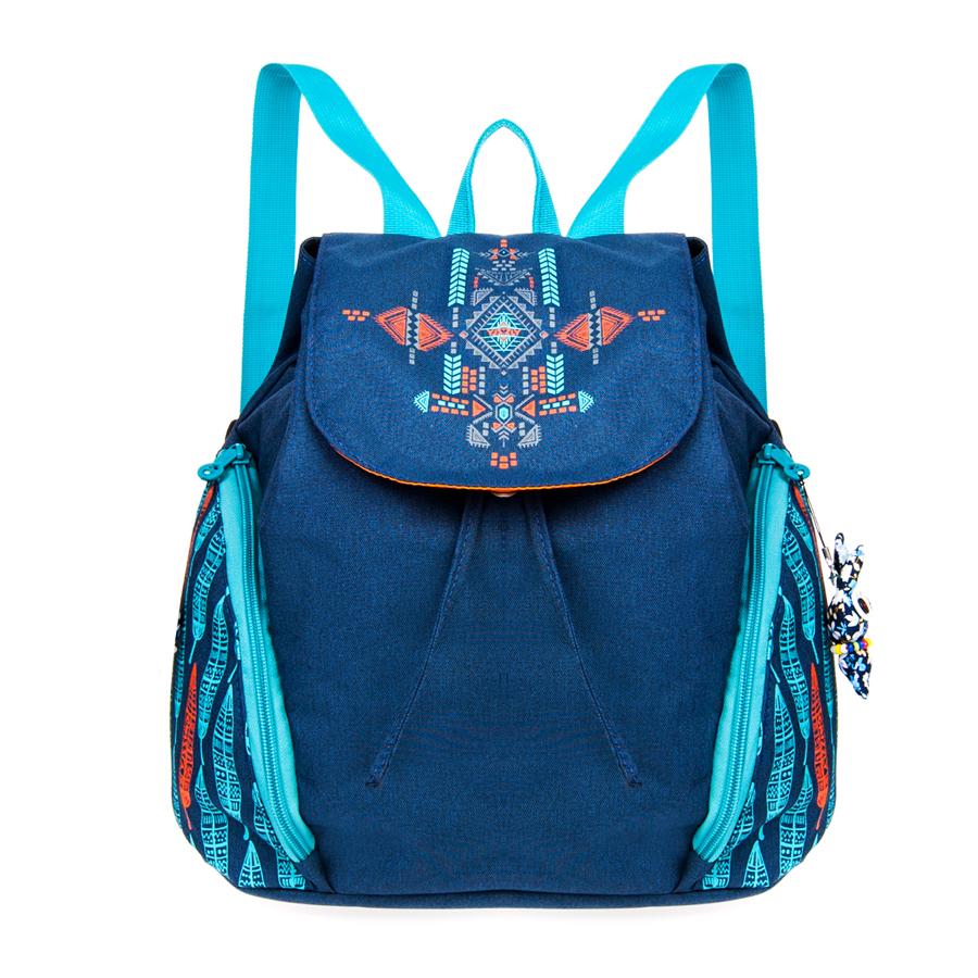 Рюкзак женский Grizzly, цвет: темно-синий. 14 л. RD-645-1/4RD-645-1/4Удобный женский рюкзак Grizzl выполнен из высококачественного полиэстера и оформлен стильным принтом. Рюкзак имеет ручку-петлю для подвешивания и две мягкие лямки, длина которых регулируется с помощью пряжек. Модель имеет одно основное отделение, которое дополнено карманом на молнии и карманом-пеналом для карандашей. Боковые стенки оснащены объемными карманами на молнии. Закрывается рюкзак на затягивающийся шнурок. Тыльная сторона рюкзака имеет мягкую спинку.