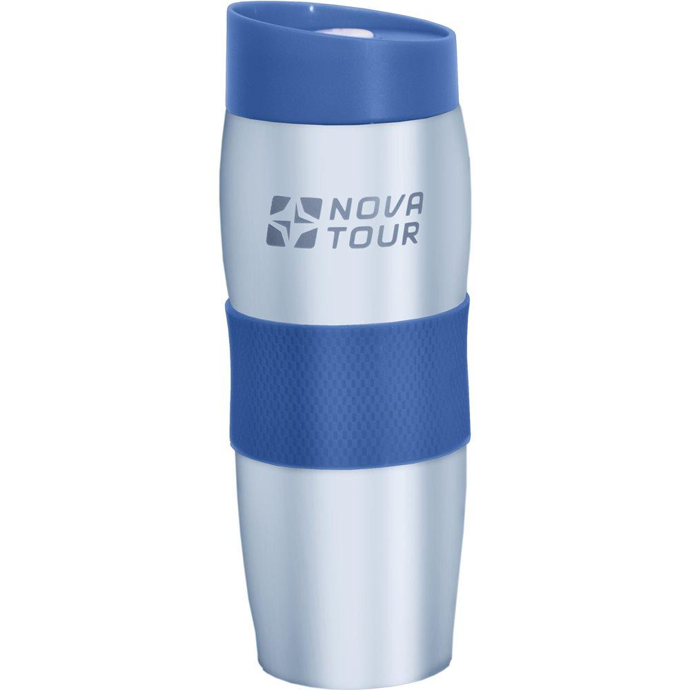 Термокружка Nova Tour Драйвер 360, цвет: голубой, 0,36 лKOC-H19-LEDТермокружка Nova Tour Драйвер 360, изготовленная из высококачественной нержавеющей стали, подходит как для холодных, так и для горячих напитков. Прорезиненная накладка не позволяет кружке выскальзывать из рук. Нижняя часть кружки надежно удерживается в подстаканнике автомобиля. Эргономичная форма корпуса и конструкция клапана термокружки Nova Tour Драйвер 360 позволяют с легкостью использовать ее одной левой рукой.