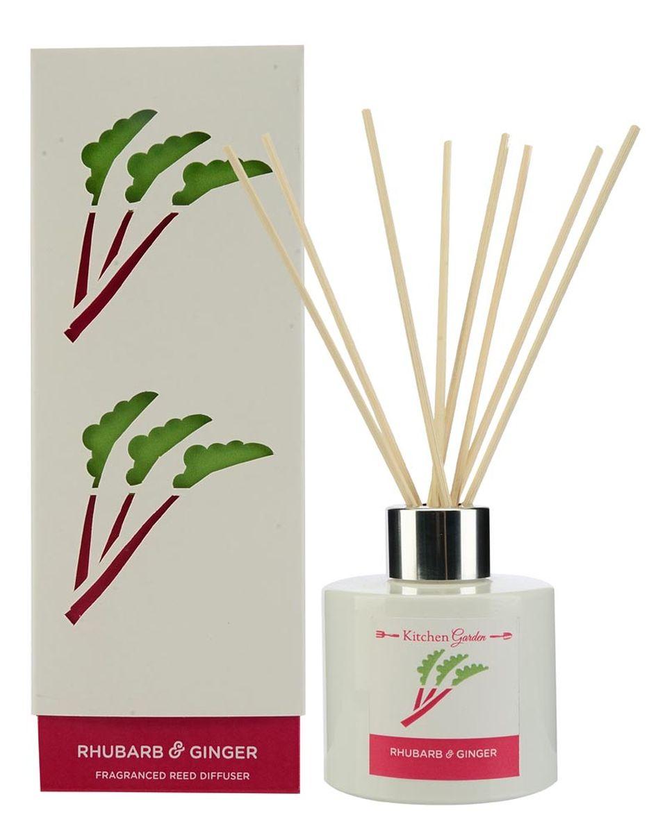Диффузор ароматический Wax Lyrical Ревень с имбирем, 100 млБрелок для ключейДиффузор ароматический Wax Lyrical Ревень с имбирем - это простое, изящное и долговременное решение, как наполнить дом или офис приятным запахом. Сладкий и одновременно пряный аромат. Ревень придаёт парфюмерной композиции свежесть, фруктово-зеленый оттенок с необходимой кислинкой; имбирь отдаёт ей свои специевые аккорды, а вместе они идеально дополняют ноты клубники, яблока и цветов жасмина. Диффузор - это не просто освежитель воздуха, а элемент декора, который окутает вас своим приятным и нежным ароматом. Отлично подойдет в качестве подарка. Способ применения: поместите палочки в вазу с ароматической жидкостью. Степень интенсивности запаха может регулироваться объемом ароматической жидкости и количеством палочек. Товар сертифицирован.