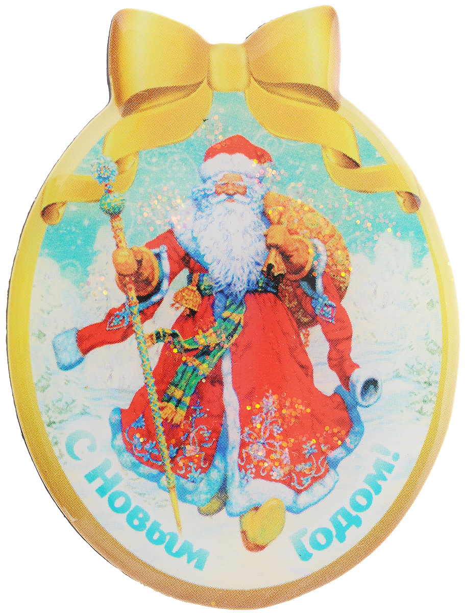Магнит Magic Time Дед мороз в красном кафтане, 4,6 x 6 смRG-D31SМагнит Magic Time Дед мороз в красном кафтане, выполненный из агломерированного феррита, прекрасно подойдет в качестве сувенира к Новому году. Магнит - одно из самых простых, недорогих и при этом оригинальных украшений интерьера. Он поможет вам украсить не только холодильник, но и любую другую магнитную поверхность.Размер: 4,6 х 6 см.Материал: агломерированный феррит.