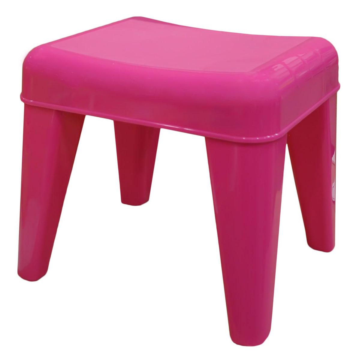 Табурет детский Little Angel Я расту, цвет: розовый12723Детский табурет – незаменимая вещь для растущего малыша. Он будет верным помощником не только в детской, но и в ванной, на кухне и в прихожей. Сидение разработано с учетом анатомических особенностей ребенка. Нескользящая поверхность сидения и противоскользящие накладки на ножках для использования на любой поверхности. Особо прочная конструкция ножек табурета для надежной и безопасной эксплуатации.