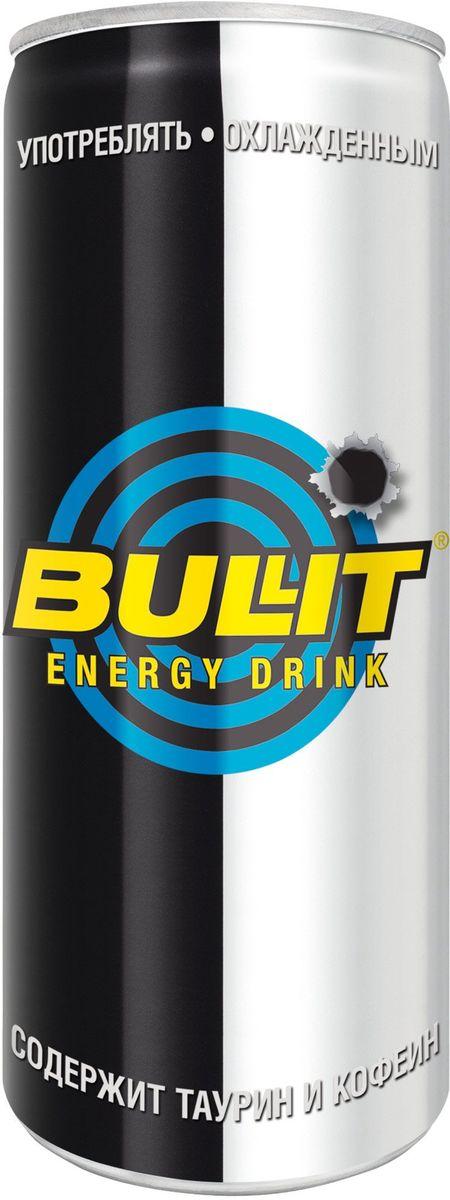 Bullit энергетический напиток, 250 мл0120710Безалкогольный тонизирующий (энергетический) газированный напиток, специально разработанный для лиц, подвергающихся значительным психо- эмоциональным и физическим нагрузкам. Он незаменим в самых разных ситуациях: при занятии спортом, напряженной работе, за рулем и на вечеринках. Повышает работоспособность, повышает концентрацию внимания и скорость реакции, поднимает настроение, ускоряет обмен веществ.