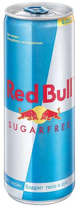 Red Bull энергетический напиток без сахара, 250 мл