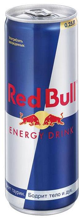Red Bull энергетический напиток, 250 мл0120710Безалкогольный тонизирующий (энергетический) газированный напиток, специально разработанный для лиц, подвергающихся значительнымпсихо-эмоциональным и физическим нагрузкам. Он незаменим в самых разных ситуациях: при занятии спортом, напряженной работе, за рулем и на вечеринках. Повышает работоспособность, повышает концентрацию внимания и скорость реакции, поднимает настроение, ускоряет обмен веществ. Секрет эффективности Red Bull состоит именно в сочетании всех компонентов, входящих в её состав.