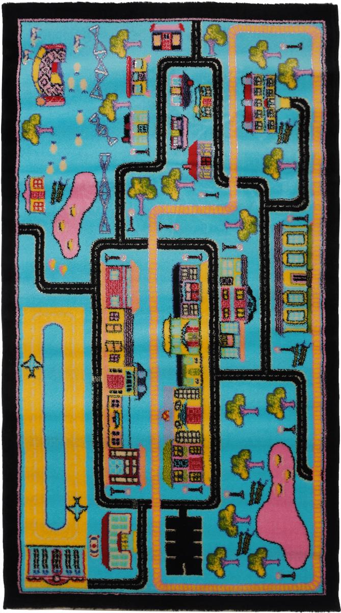 Ковер детский Kamalak Tekstil Город, прямоугольный, 80 x 150 смFS-91909Детский ковер Kamalak Tekstil Город изготовлен из высококачественного полипропилена.Полипропилен износостоек, нетоксичен, не впитывает влагу, не провоцирует аллергию. Структура волокна в полипропиленовых коврах гладкая, поэтому грязь не будет въедаться и скапливаться на ворсе. Практичный и износоустойчивый ворс не истирается и не накапливает статическое электричество. Ковер обладает хорошими показателями теплостойкости и шумоизоляции. Оригинальный рисунок позволит гармонично оформить интерьер детской комнаты. За счет невысокого ворса ковер легко чистить. При надлежащем уходе синтетический ковер прослужит долго, не утратив ни яркости узора, ни блеска ворса, ни упругости. Самый простой способ избавить изделие от грязи - пропылесосить его с обеих сторон (лицевой и изнаночной). Влажная уборка с применением шампуней и моющих средств не противопоказана. Хранить рекомендуется в свернутом рулоном виде.