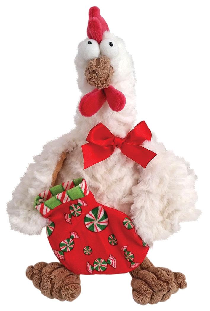 Fluffy Family Мягкая игрушка Петух новогодний цвет белый мягкая игрушка утка глори цвет белый 30 см