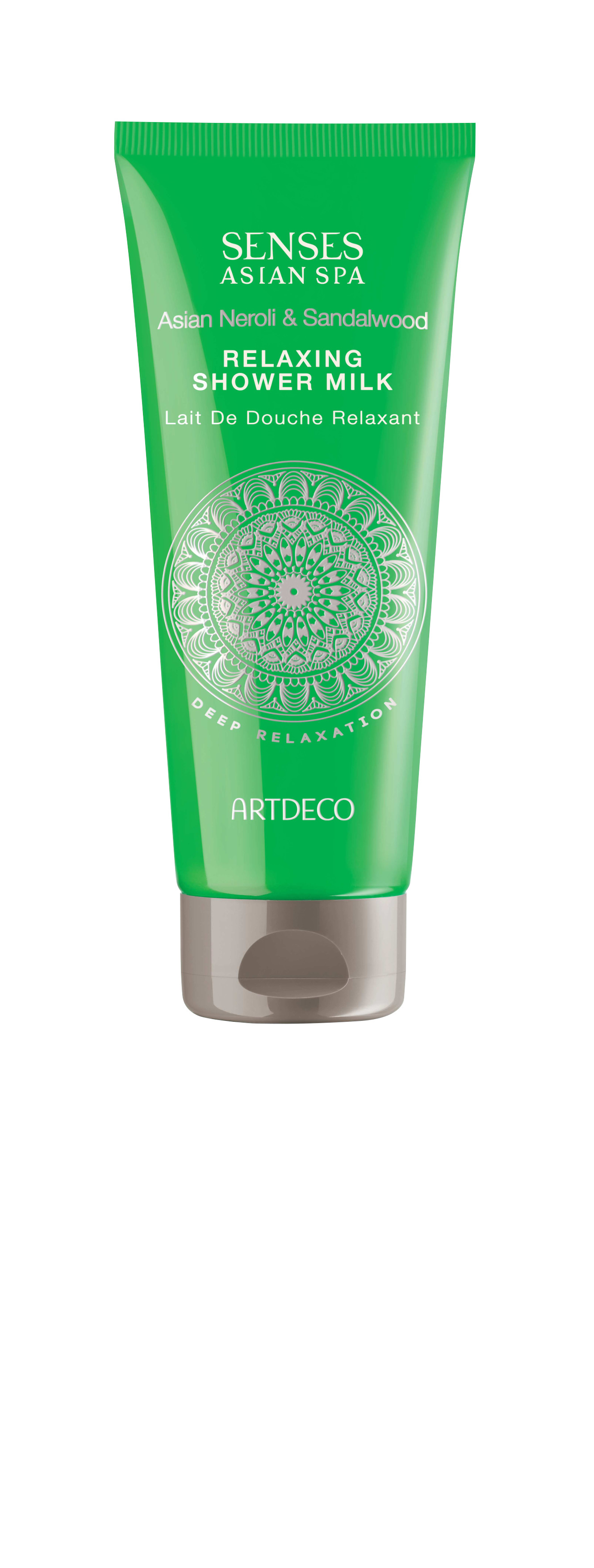Artdeco молочко для душа успокаиващее Relaxing shower milk, deep relaxation, 200 мл скраб artdeco deep exfoliating foot scrub deep relaxation