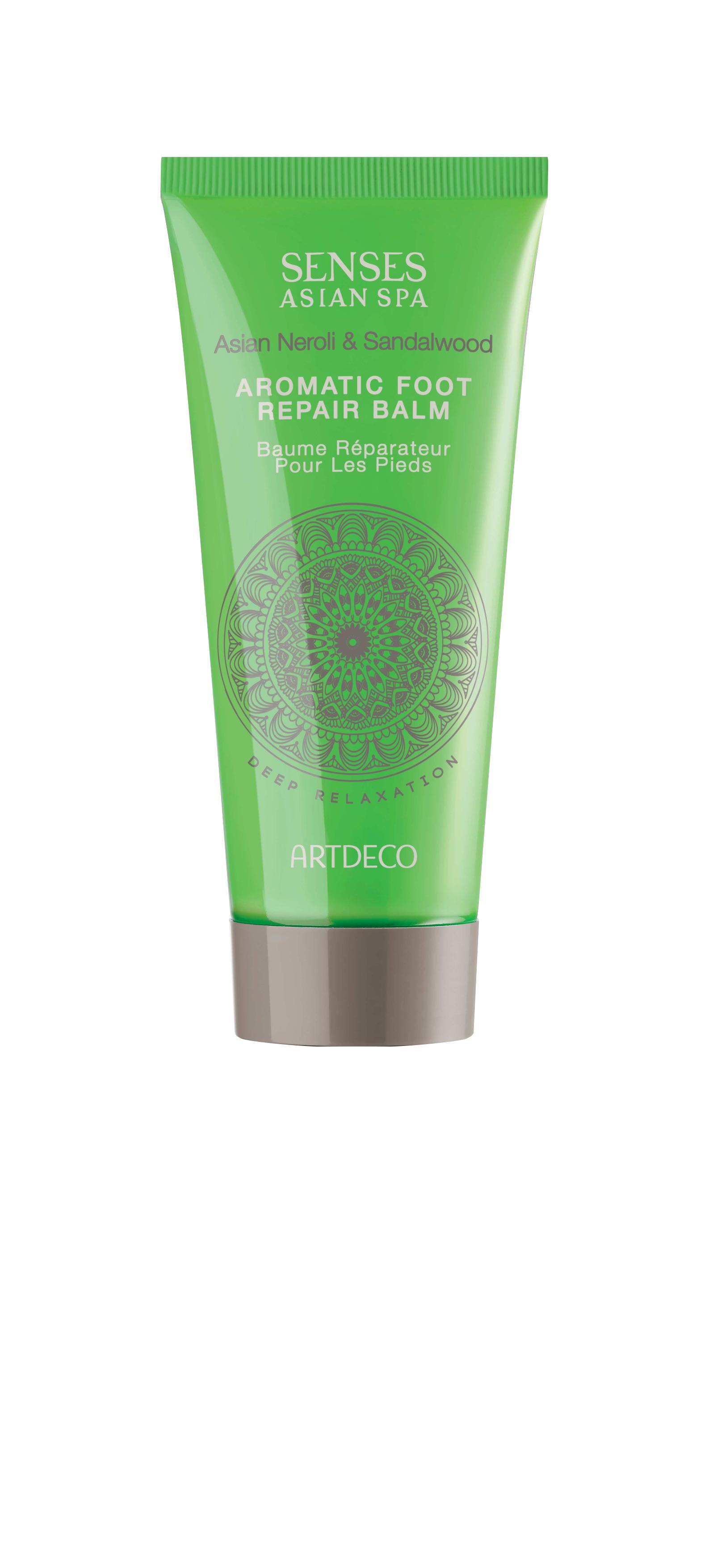 Artdeco бальзам для ног восстанавливающий Aromatic foot repair balm, deep relaxation, 100 млFS-00610Интенсивно увлажняет и питает кожуОбладает освежающим эффектом