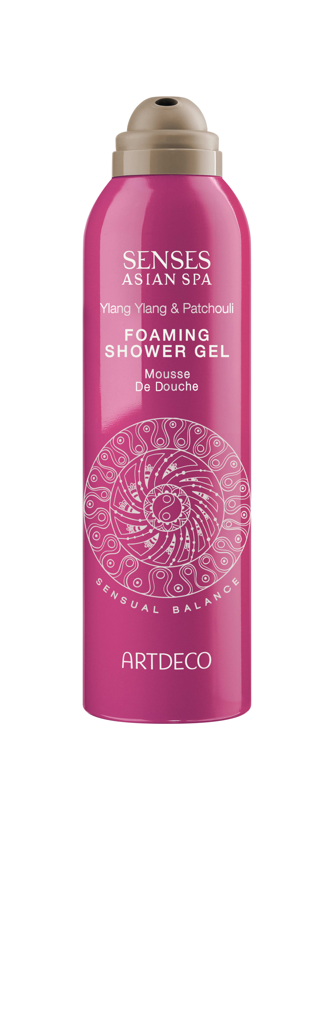Artdeco гель-пена для душа Foaming shower gel, sensual balance, 200 мл086-07-35759Нежно очищает, увлажняет, питает и восстанавливает кожуПри контакте с водой превращается в воздушную пену