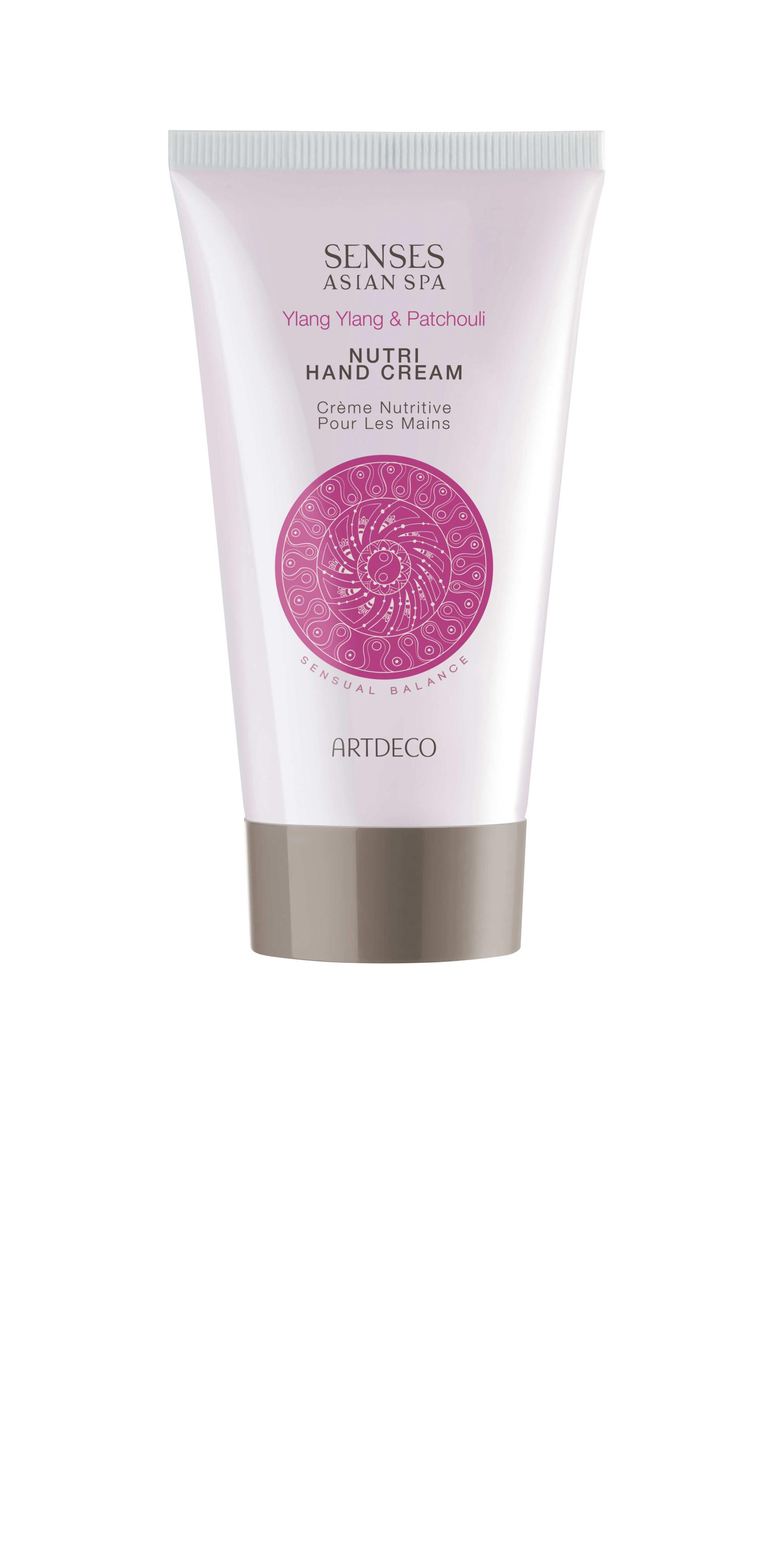 Artdeco крем для рук питательный Nutri hand cream, sensual balance, 75 млM5062404Длительный увлажняющий эффектПитает кожу, смягчаетУхаживает за кутикулой