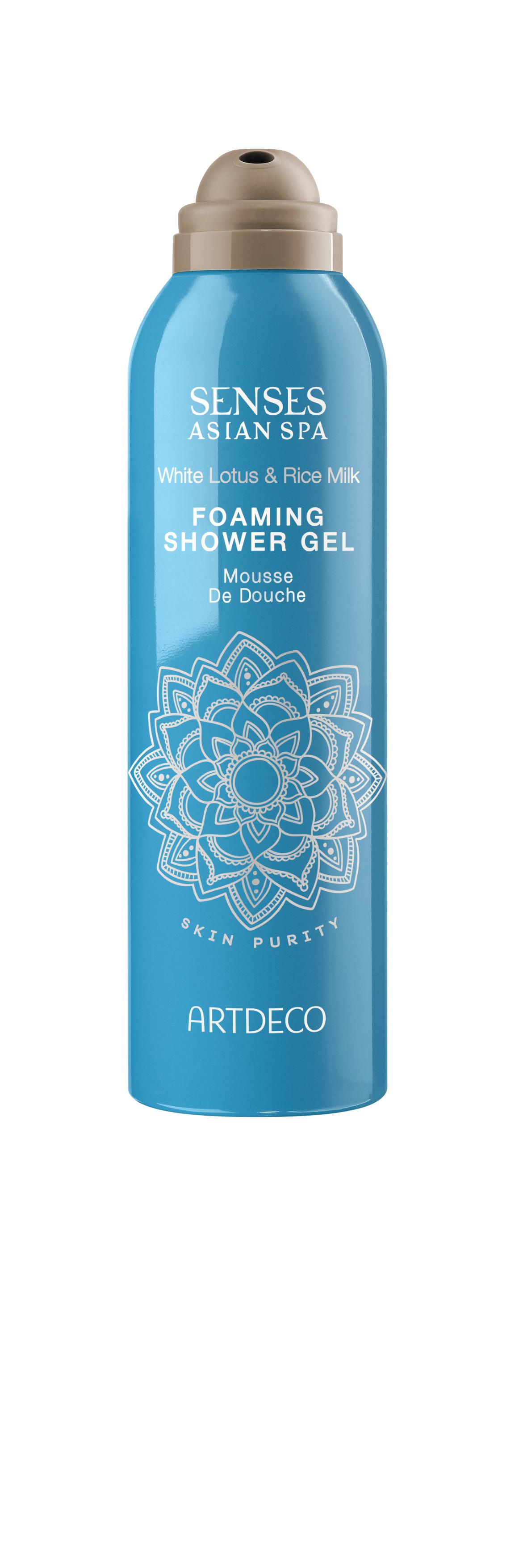 Artdeco гель-пена для душа Foaming shower gel, skin purity, 200 мл72523WDНежно очищает кожуУвлажняет и освежаетПри контакте с водой превращается в воздушную пену