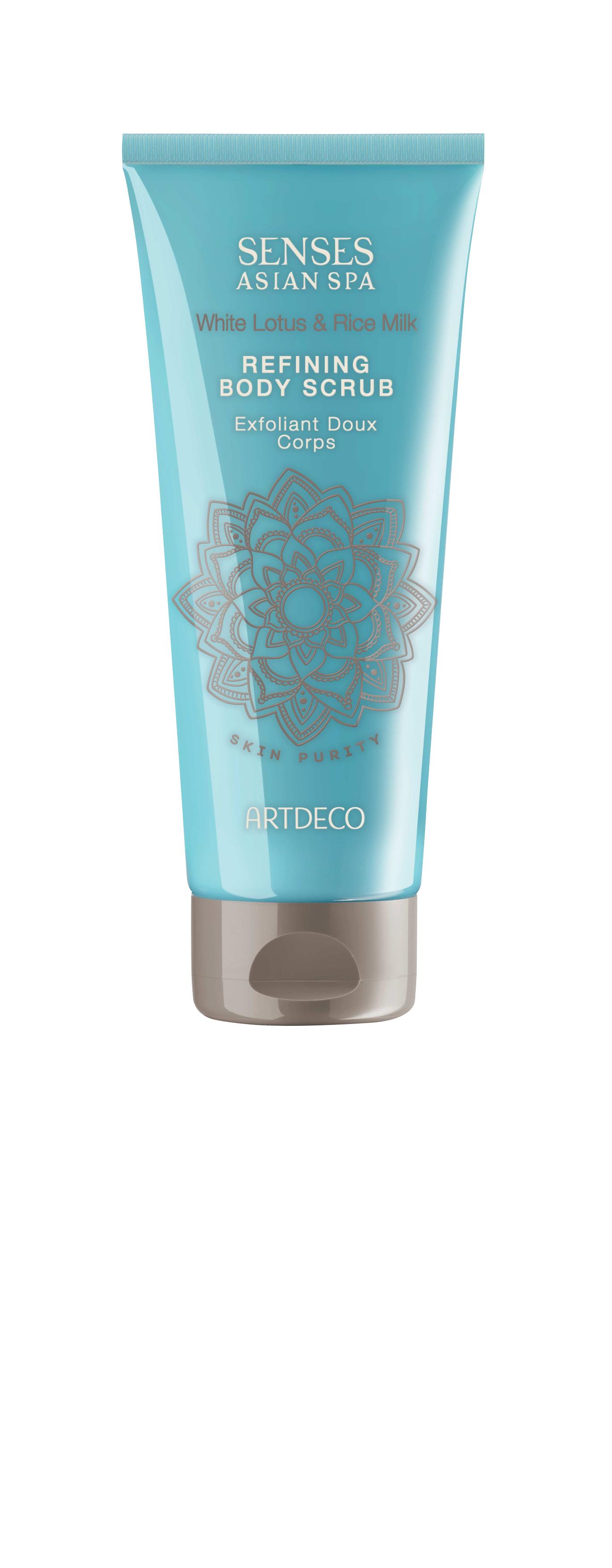 Artdeco скраб для тела очищающий Refining body scrub, skin purity, 200 млFS-00897Делает кожу гладкой, убирает ороговевшие частички Улучшает микроциркуляцию