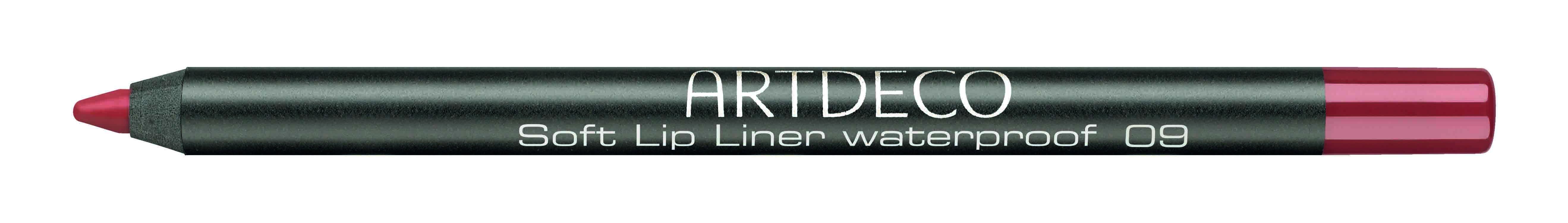 Artdeco карандаш для губ водостойкий 09 1,2гУТ000001887_TitaniaКонтур со стойкой текстурой и насыщенным цветом не позволяет растекаться помаде или блеску, помогает сделать чувственный макияж губ.