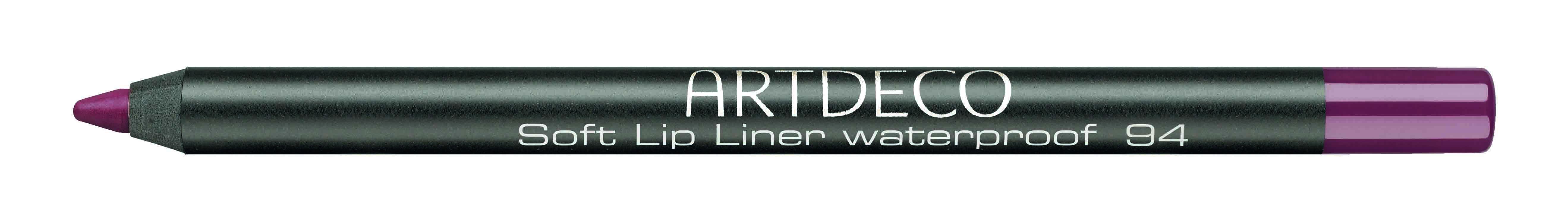 Artdeco карандаш для губ водостойкий 94 1,2гSC-FM20104Контур со стойкой текстурой и насыщенным цветом не позволяет растекаться помаде или блеску, помогает сделать чувственный макияж губ.