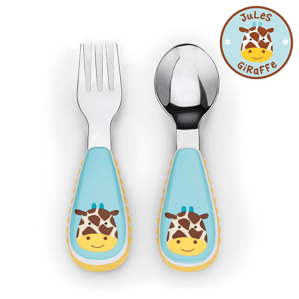 Skip Hop Набор столовых приборов Жираф -  Все для детского кормления