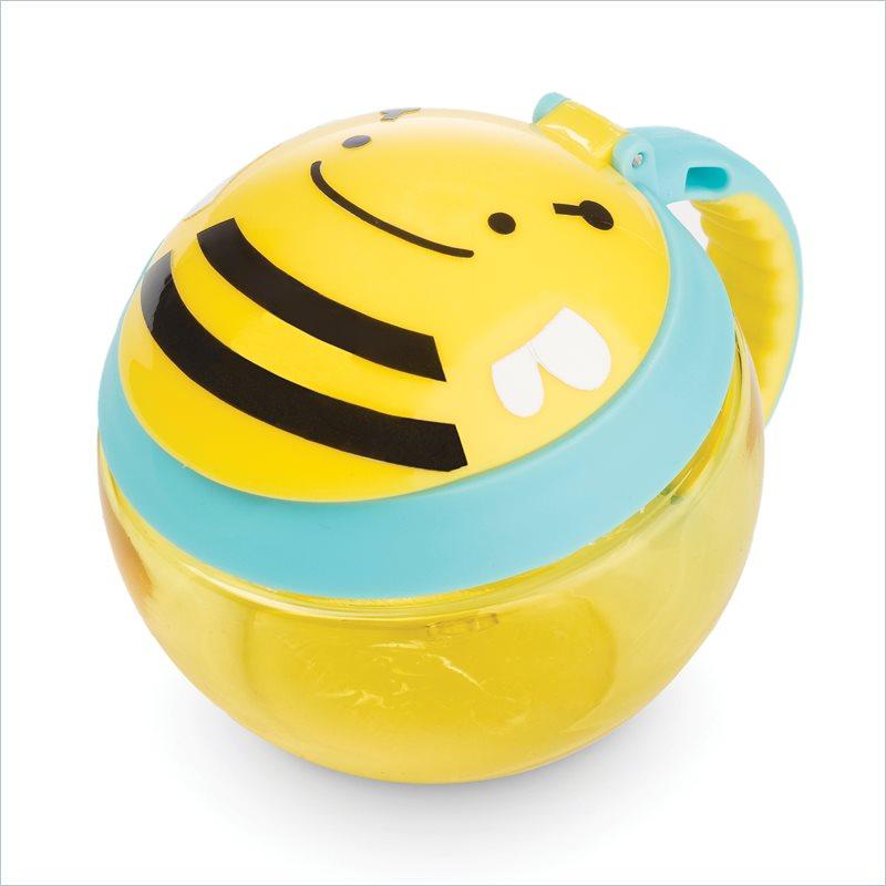 Skip Hop Контейнер-чашка для снеков Пчела