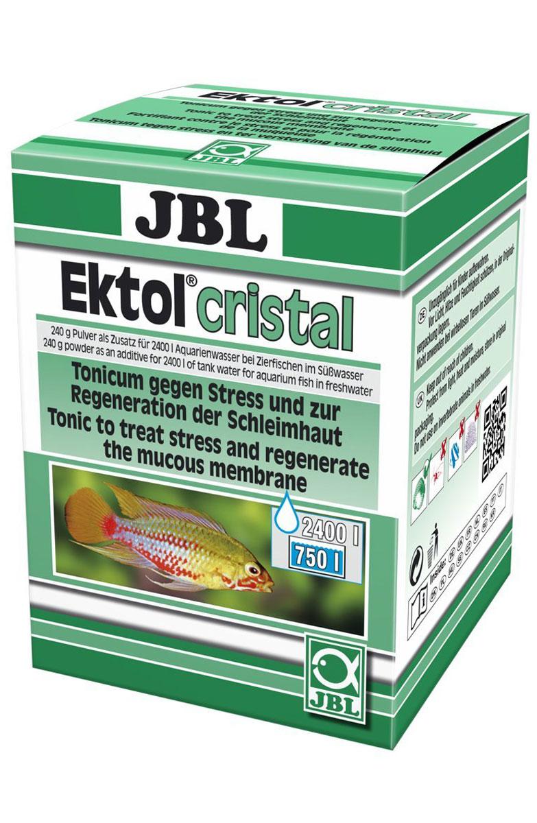 Лекарство против паразитов и грибковых заболеваний JBL Ektol Сristal, 240 г0120710JBL Ektol Сristal - препарат для лечения рыб от паразитов и грибковых заболеваний. Очень серьезный эффект достигается при лечении различных грибковых заболеваний. Лекарство для рыб в пресноводных аквариумах против грибковых инфекций и для лечения живородящих видов рыбок. Препарат применяется в качестве антибактериального препарата при необъяснимой массовой гибели рыбок в аквариуме. В некоторых случаях успех наблюдался и при визуально необъяснимой массовой гибели рыб. Активный кислород, содержащийся в препарате, моментально облегчает рыбам дыхание и оксидирует содержащиеся в воде ядовитые вещества.Применение: 10 г на каждые 100 литров воды добавить на 1-й, 3-й и 5-й день. При необходимости повторить, действуя аналогичным образом, но предварительно заменив 30-50% воды. 1 чайная ложка без горки содержит примерно 5 г препарата.