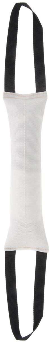 Игрушка для собак OSSO Fashion Кусалка, с двумя ручками, длина 30 см0120710Игрушка OSSO Fashion Кусалка предназначена для игр и развития спортивных навыков собаки, в том числе для игр, развивающих хватку. Может использоваться в качестве апортировочного предмета. Каркас изготовлен из высококачественного лавсана, а набивка выполнена из полиэтилена. Изделие оснащено двумя удобными ручками. Игрушка OSSO Fashion Кусалка является необыкновенно интересной и привлекательной для собак. Длина игрушки (без учета ручек): 30 см.Длина ручки: 20 см.