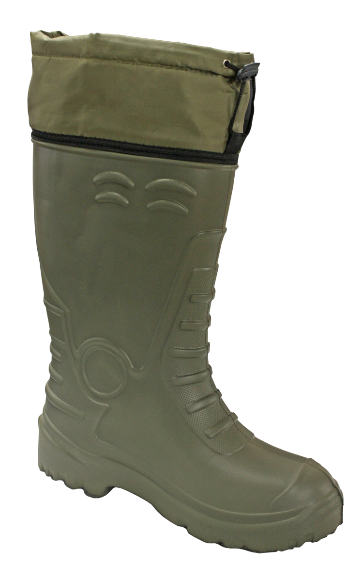 Сапоги зимние EVA Shoes CLASS-AS ЭВА (-40), цвет: олива. Размер 42/43