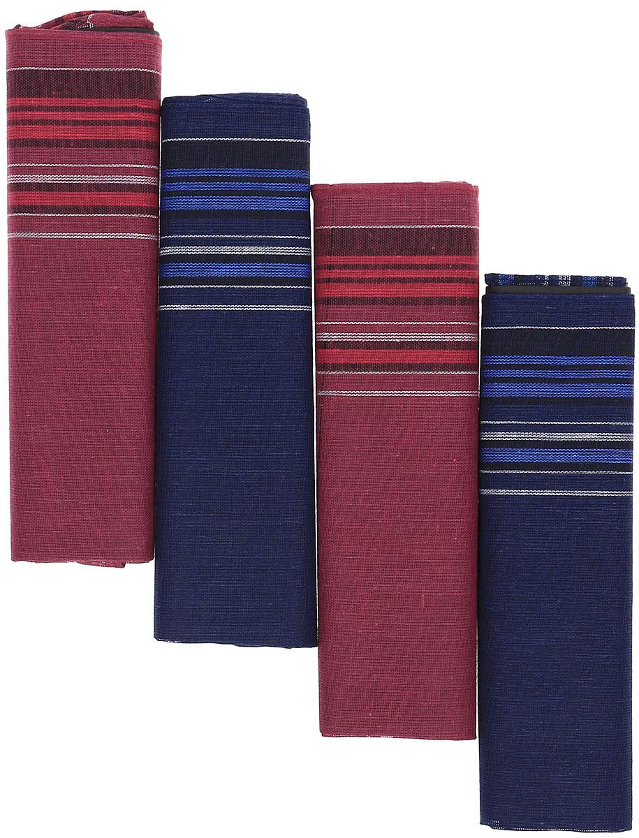 Платок носовой мужской Zlata Korunka, цвет: мультиколор, 4 шт. 71419-3. Размер 34 х 34 см39864|Серьги с подвескамиПлатки носовые мужские в упаковке по 4 шт. Носовые платки изготовлены из 100% хлопка, так как этот материал приятен в использовании, хорошо стирается, не садится, отлично впитывает влагу.