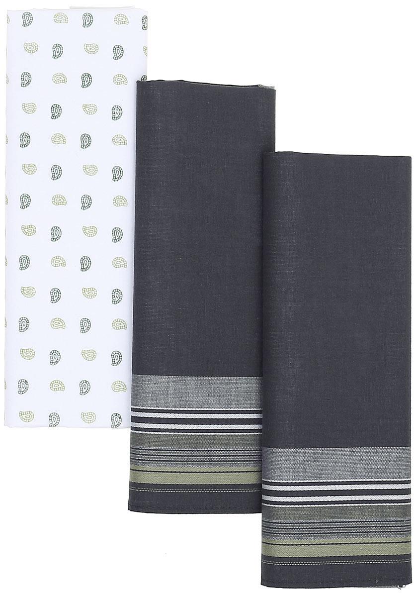 Платок носовой мужской Zlata Korunka, цвет: мультиколор, 3 шт. М39В. Размер 42 х 42 смБрошь-кулонПлатки носовые мужские в упаковке по 3 шт. Носовые платки изготовлены из 100% хлопка, так как этот материал приятен в использовании, хорошо стирается, не садится, отлично впитывает влагу.