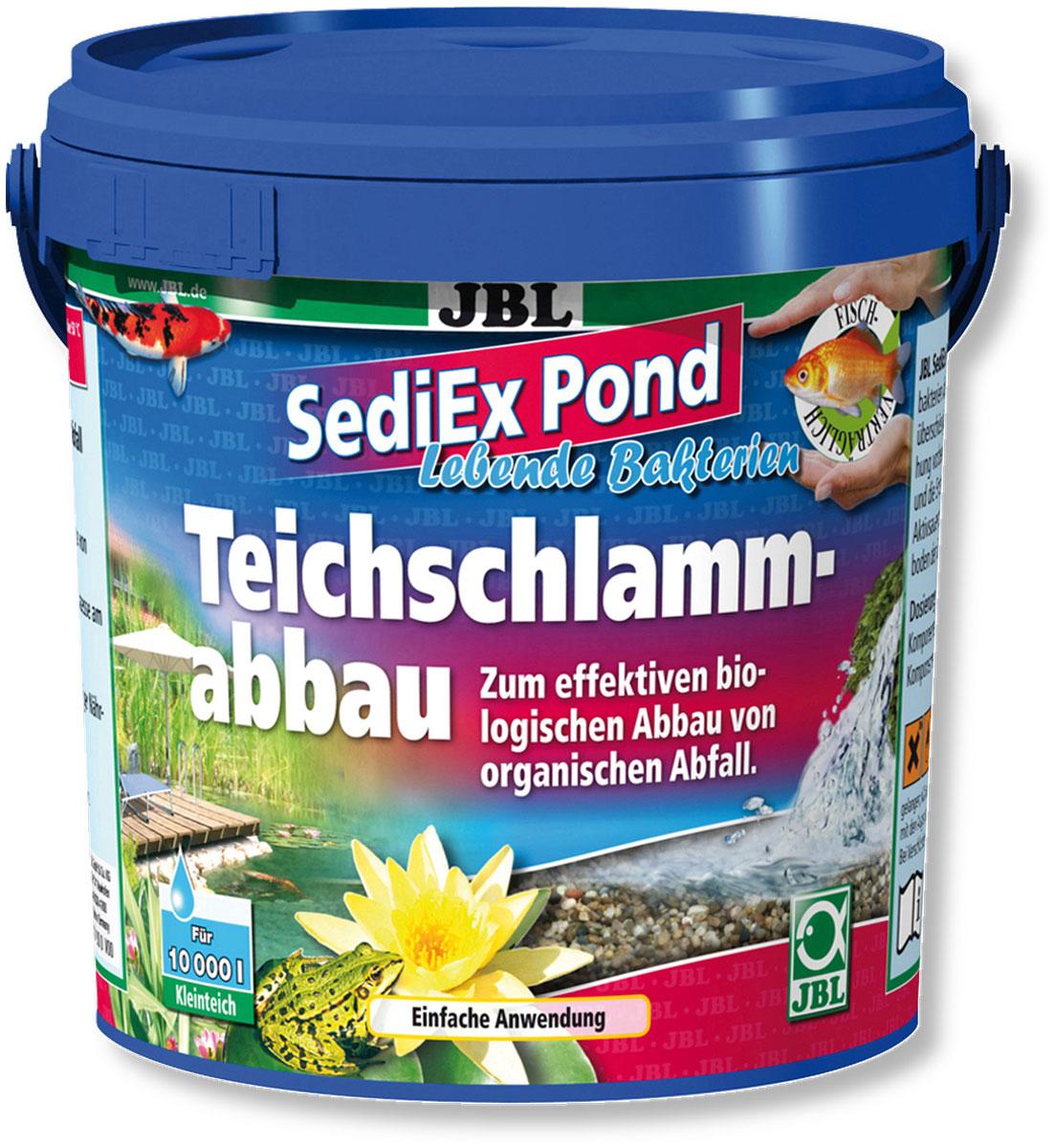 Средство для садовых прудов JBL  SediEx Pond , для эффективного биологического удаления ила, 1 кг на 10000 л воды - Биотуалеты и септики