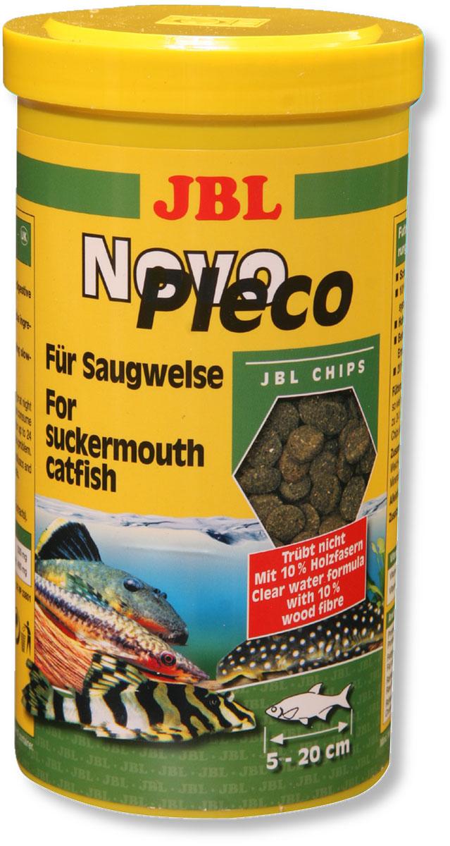 Корм JBL NovoPleco для кольчужных сомов, в форме чипсов, 1 л (530 г)JBL3031200Корм JBL NovoPleco представляет собой чипсы, изготовленные по специальной технологии, состав которых и консистенция специально подобраны для кормления кольчужных сомов и других донных рыб, питающихся растениями. Корм обеспечивает правильное питание. Быстро погружающиеся в воду чипсы сразу ложатся на дно аквариума, в зону досягаемости для его донных обитателей. Корм предназначен для рыб 5-20 см в длину.Рекомендации по кормлению: 2-3 раза в день столько корма, сколько рыбки могут за 2-3 минуты. Состав: растительные побочные продукты, овощи, злаки, моллюски и ракообразные, водоросли, рыба и рыбные побочные продукты, дрожжи. Анализ: белок - 32%, жир - 8%, клетчатка - 13%, зола - 10%.Содержание витаминов в 1 кг: Витамин А 25000 I.E., Витамин D3 2000 I.E., Витамин Е 330 мг, Витамин C 400 мг. Товар сертифицирован.