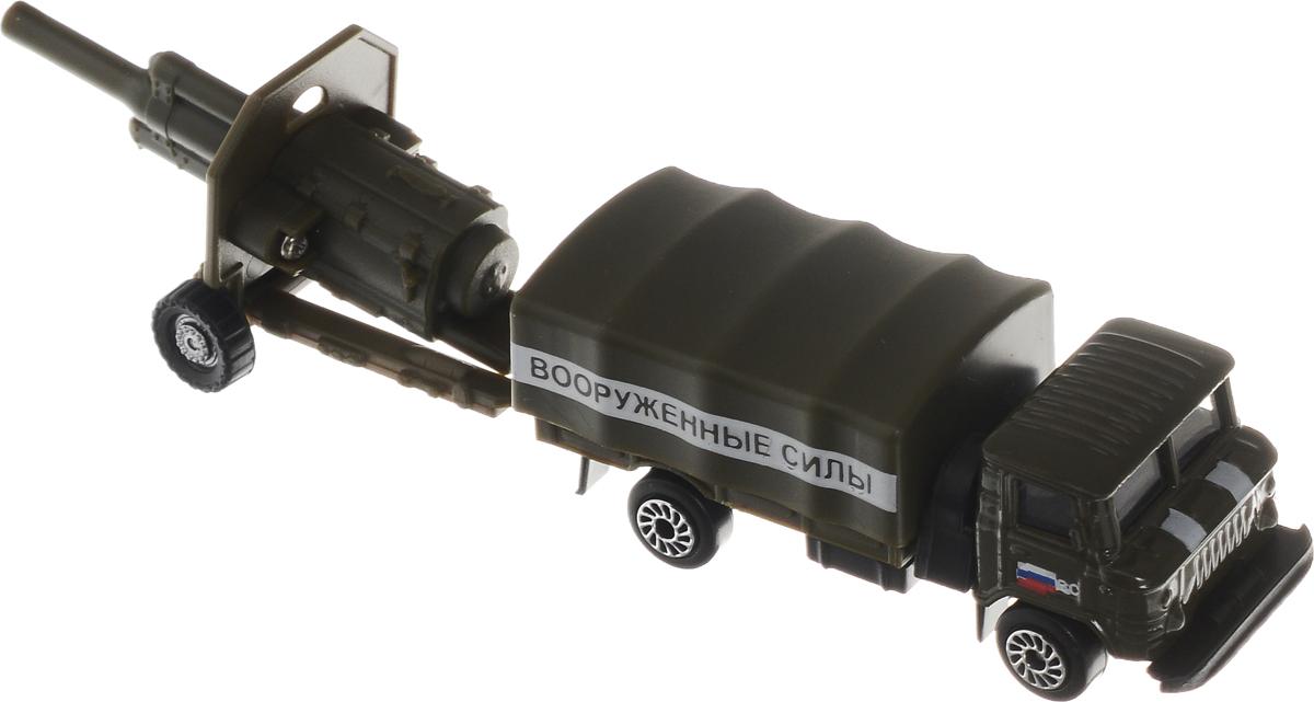 ТехноПарк Газ 66 с пушкой технопарк газ 66 с пушкой