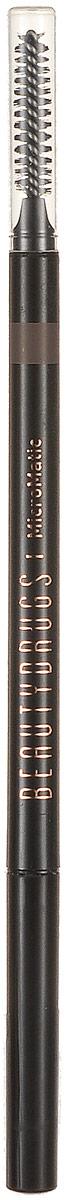 Beautydrugs MicroMatic Механический карандаш Brunette 0,9 гр100900513Автоматический карандаш для бровей Beautydrugs Micro Matic имеет тончайший грифель, который не требует затачивания. Наносится легчайшим движением и позволяет прорисовать даже самые тоненькие линии, имитируя настоящие волоски. Карандаш не смазывается и не тускнеет в течение всего дня. Универсальные оттенки подобраны с учетом славянской внешности.