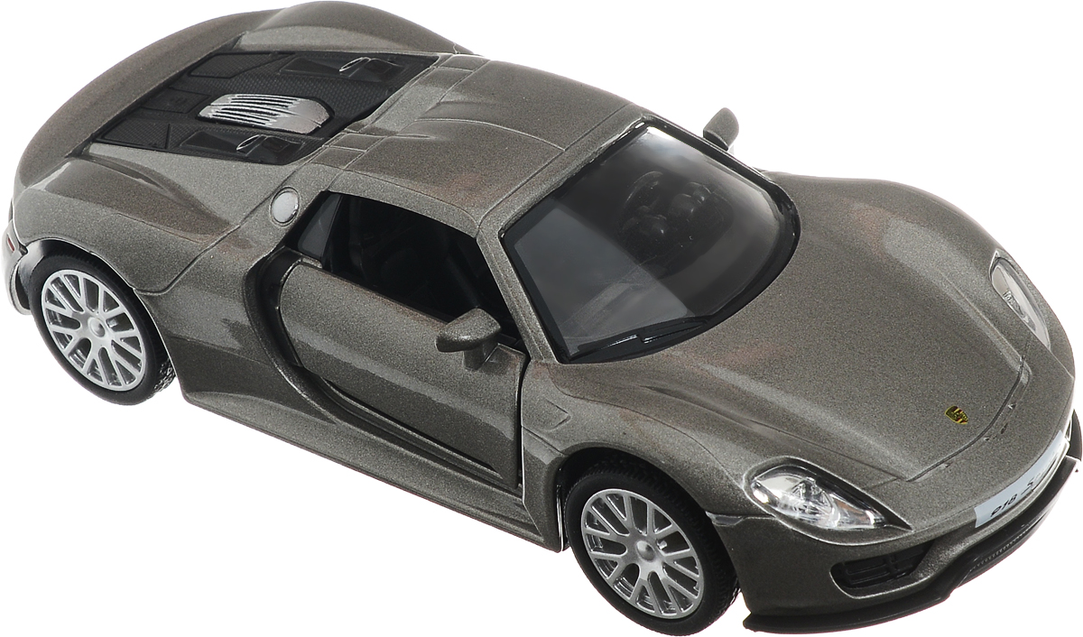 Рыжий Кот Модель автомобиля Porsche 918 Spyder rastar 1 24 porsche 918 spyder серебро 71400
