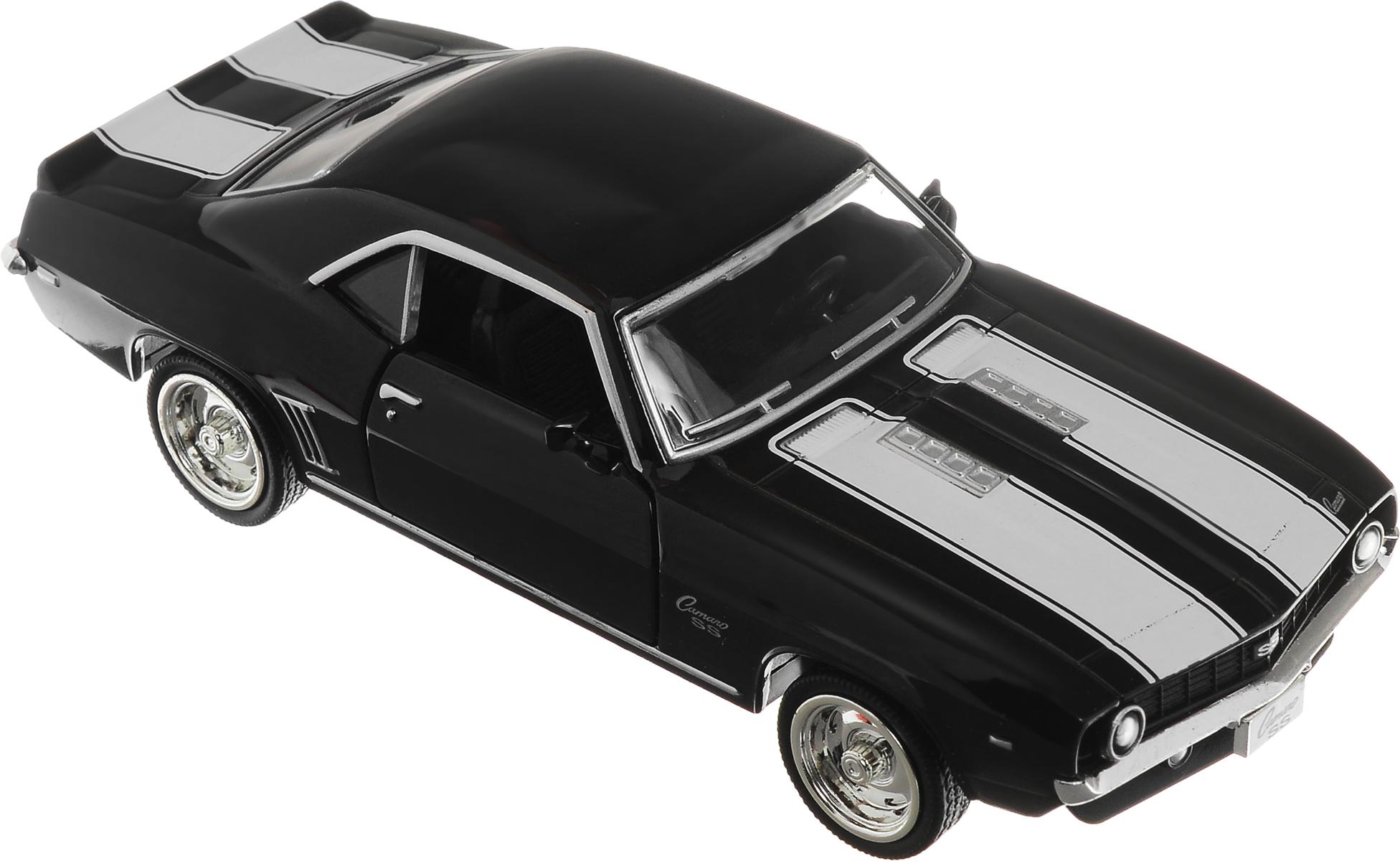 Рыжий Кот Модель автомобиля Chevrolet Camaro SS машинка chevrolet camaro 1969 imperial black edition 49924