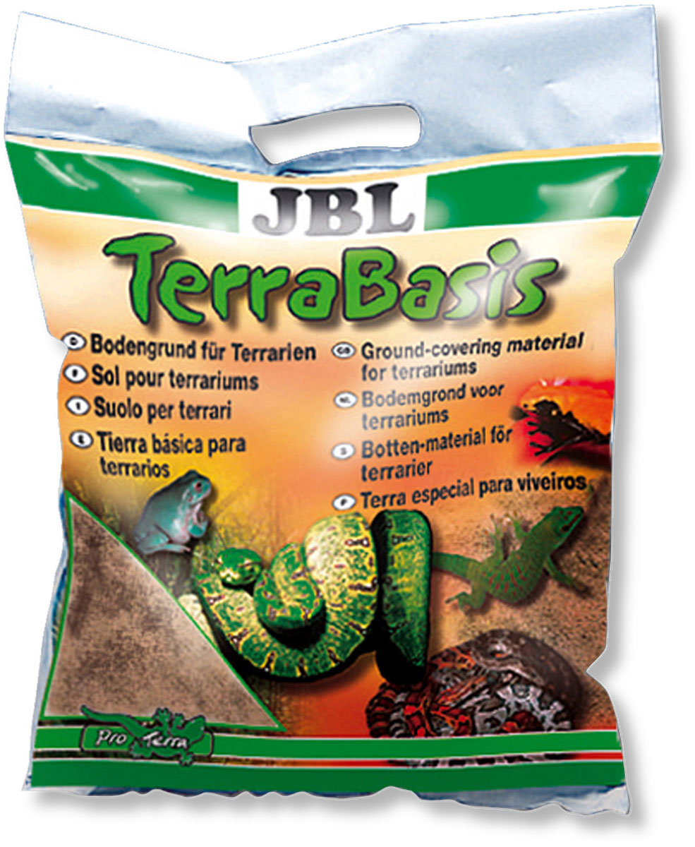 Грунт для влажных и полувлажных террариумов JBL  TerraBasis , донный, 5 л - Аксессуары для аквариумов
