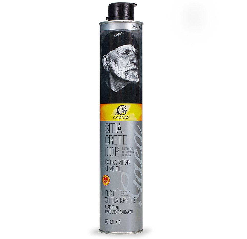Gaea Sitia Crete D.O.P. Extra Virgin масло оливковое, 0,5 л24Оливковое масло Gaea Sitia Crete D.O.P. Extra Virgin добывается в знаменитом регионе Сития на острове Крит. На острове уже около 5000 лет сохраняется уникальный микроклимат для выращивания качественных оливок, которые обрабатываются исключительно механическими методами (холодный отжим) для получения уникальных характеристик и свежего аромата.
