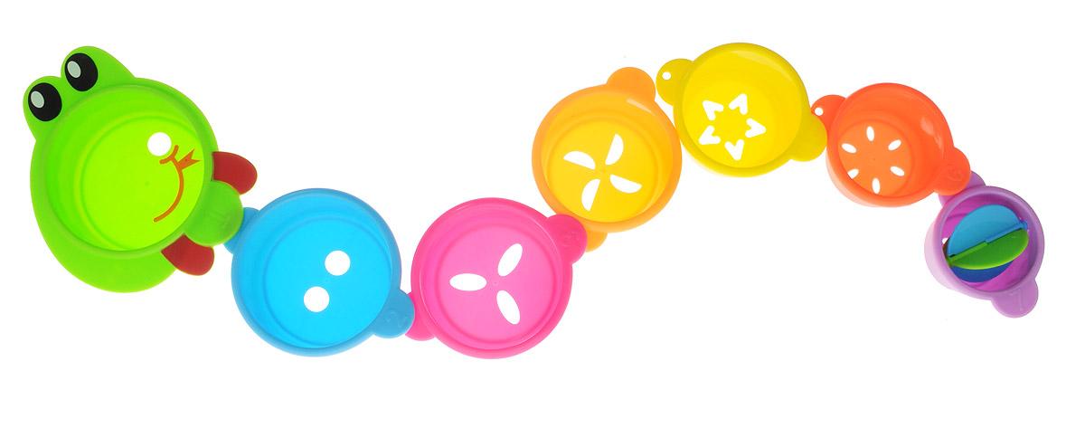 Малышарики Игрушка для ванной Змейка цвет салатовый
