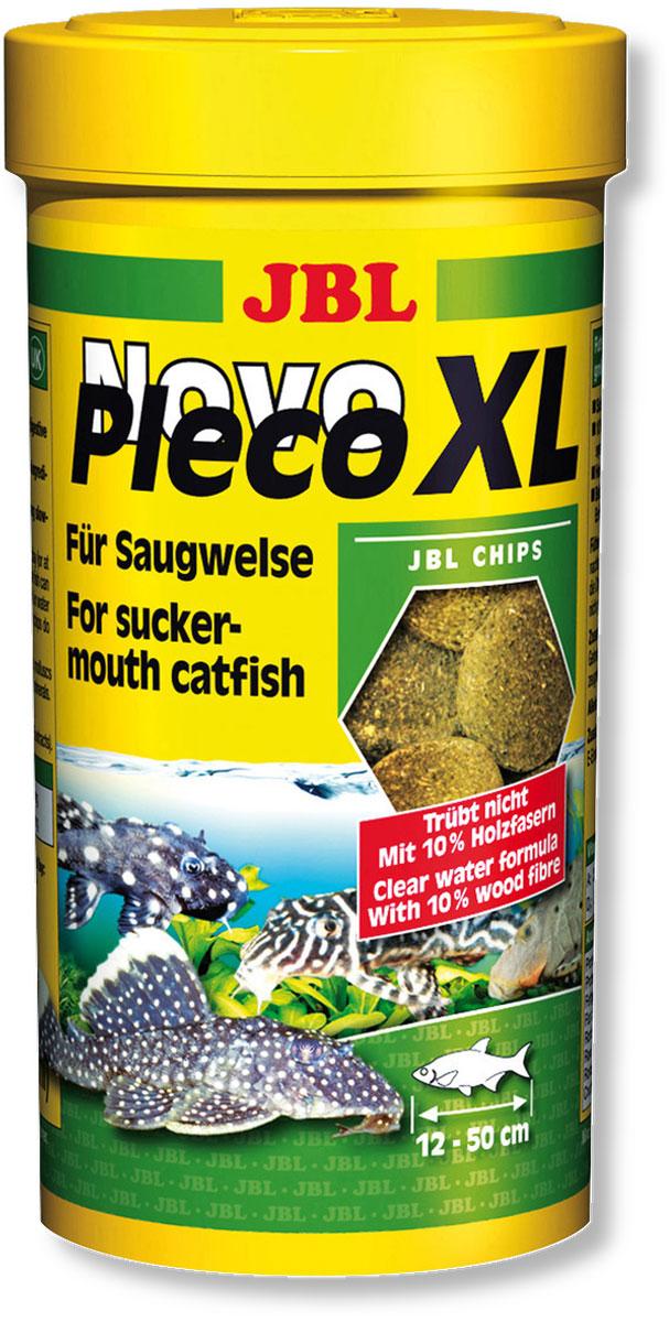 Корм JBL NovoPleco. XL для кольчужных сомов, водорослевые чипсы, 250 мл (125 г)0120710Корм JBL NovoPleco. XL представляет собой в форме чипсов, изготовленных по специальной технологии, состав которых и консистенция специально подобраны для кормления растительноядных кольчужных сомов (плекостомы, анциструсы) и других растительноядных донных рыб. Зародыши пшеницы, водоросль-спирулина, большой процент растительных веществ и 10% доля древесного волокна обеспечивают правильное питание. Быстро погружающиеся в воду чипсы сразу ложатся на дно аквариума в зону досягаемости для его донных обитателей. Не размокающие в воде чипсы дают медленно питающимся обитателям придонной зоны аквариума достаточно времени для поглощения корма, а вода в аквариуме остается чистой. Стабилизированный витамин С и другие важные витамины укрепляют иммунитет. Идеальный размер корма для рыб от 12 до 50 см.Состав: белок 30%, жир 8%, клетчатка 13%, зола 12%.Содержание витаминов в 1000 г: витамин А 25000 i.e., витамин D3 2000 i.e., витамин Е 330 мг, витамин С 400 мг. Вес: 125 г.Товар сертифицирован.