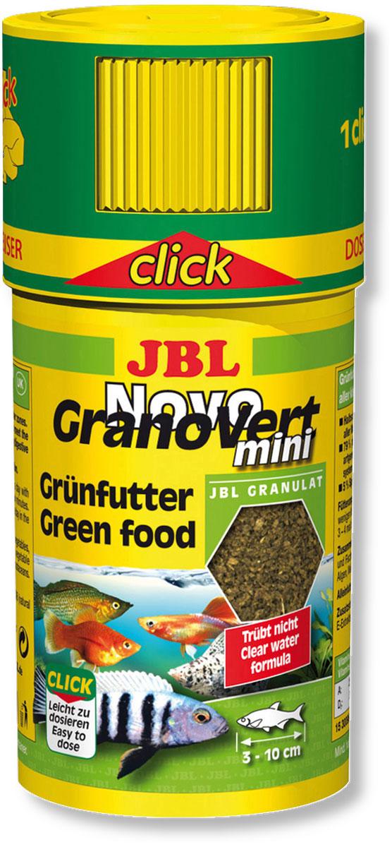 Корм JBL NovoGranoVert mini для маленьких аквариумных рыб, в форме мини-гранул, 100 мл (35 г)0120710Корм JBL NovoGranoVert mini содержит высокоценные растительные вещества и растительные волокна, предназначенные для кормления растительноядных аквариумных рыб. Корм изготовлен по щадящей технологии высокотемпературной пастеризации и обладает высокими питательными свойствами. Часть гранул медленно погружается в воду, а часть некоторое время плавает на поверхности. Благодаря этому рыбы, обитающие в разных слоях воды, могут поглощать корм, предназначенный специально для них. Сбалансированная смесь всех важнейших элементов, таких как белки, жиры и углеводы, а также жизненно необходимые минералы и витамины обеспечивают здоровый рост и повышают сопротивляемость организма рыб заболеваниям. Крышка с дозатор облегчает кормление рыб 1 нажатие дозатора - корм для пяти рыб.Рекомендации по кормлению: кормление 2-3 раза в день в объеме, который может быть съеден рыбами в течение нескольких минут. Мальков соответственно следует кормить чаще. Превосходно подходит для автоматических кормушек. Идеальный размер корма для рыб длиной от 3 до 10 см. Состав: белок 30%, жир 4%, клетчатка 6%, зола 9%, фосфор 0,9%, Содержание витаминов в 1000 г.: витамин А 25,000 i.E., витамин D3 3000 i.E., витамин Е 330 мг., витамин С 400 мг. Вес: 35 г. Товар сертифицирован.