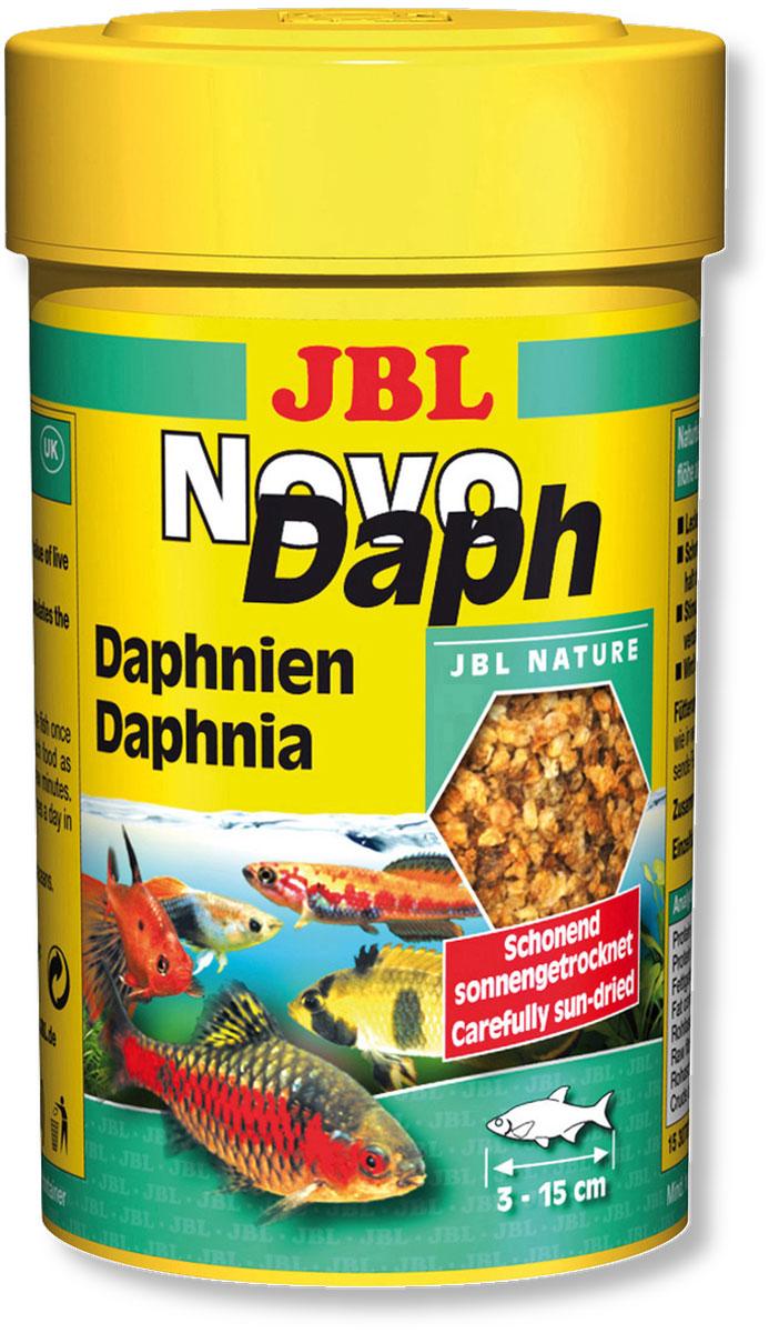 Корм JBL NovoDaph для всех видов рыб, 100 мл (15 г)0120710Корм JBL NovoDaph представляет собой идеальное дополнение в меню для всех аквариумных рыб и содержит благодаря сушке под солнцем все питательные вещества живого корма. Корм охотно поедается даже очень разборчивыми видами рыб. Высокое содержание балластного вещества (хитина) стимулирует пищеварение. Идеальный размер корма для рыб от 3 до 15 см. Рекомендуется кормить ежедневно по нескольку раз, но маленькими порциями, которые съедаются в течение нескольких минут. Состав: белки 50%, жиры 10%, клетчатка 2%, зола 18%, моллюски и ракообразные 100%. Вес: 15 г. Товар сертифицирован.