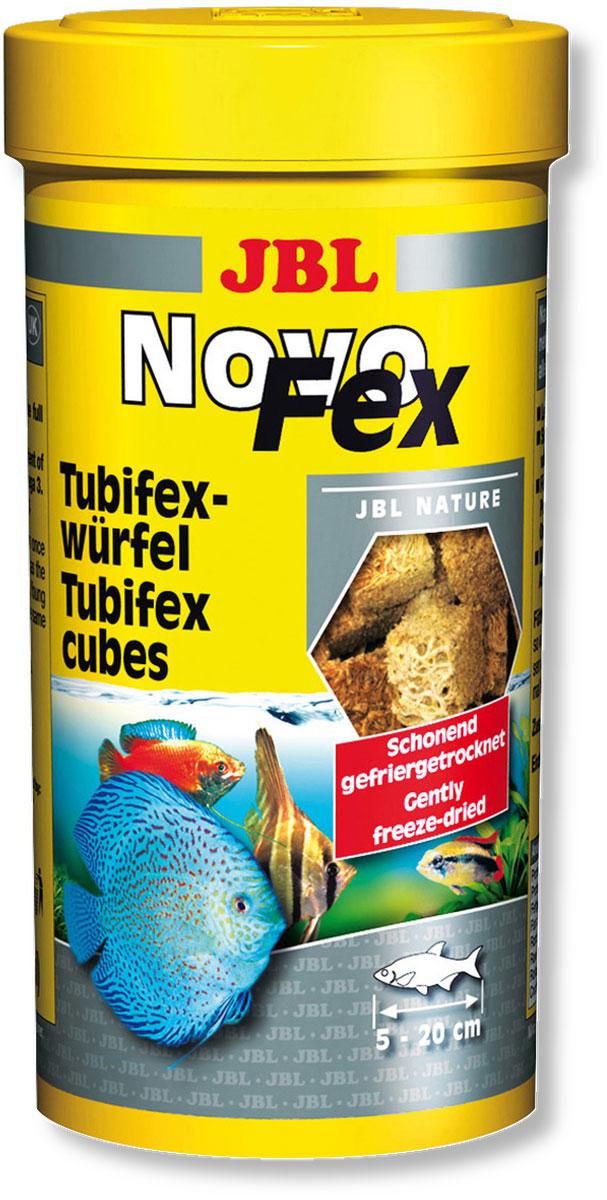 Корм JBL NovoFex для всех аквариумных рыб, 100 мл (10 г)0120710Корм JBL NovoFex представляет собой идеальное дополнение в меню для всех аквариумных рыб и содержит, благодаря высушиванию по технологии вакуумной заморозки, все питательные вещества живого корма. Корм охотно поедается даже очень разборчивыми видами рыб и является полезным лакомством, обитающих в аквариумах с пресной и морской водой и в прудах. Высокое содержание белка и ненасыщенных жирных кислот обеспечивает здоровый рост молодняка. Идеальный размер корма для рыб от 5 до 20 см.Рекомендации по применению:2-3 раза в день в количестве которое съедается рыбками за 2-3 минуты.Состав: белок 60%, жир 23%, клетчатка 2%, зола 8%. Вес: 10 г. Товар сертифицирован.